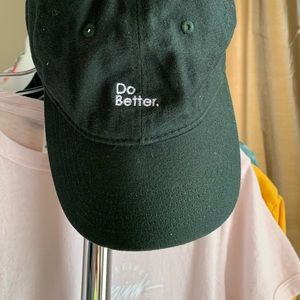"""""""Do Better"""" Thrifted Hat"""